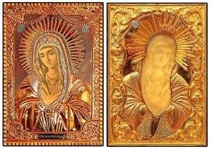 """Чудотворная мироточивая икона Божией Матери """"УМИЛЕНИЕ"""""""